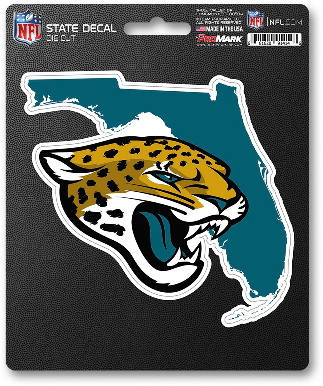 7b0195c2 Team ProMark Jacksonville Jaguars Color State Shape Decal