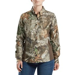 Women's Eagle Pass Deluxe Camo Long Sleeve Hunting Shirt