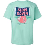 Simply Southern Girls' Slow Graphic T-shirt