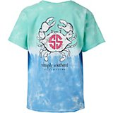 Simply Southern Girls' Crab Graphic T-shirt