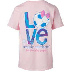 Girls' Soccer Graphic T-shirt