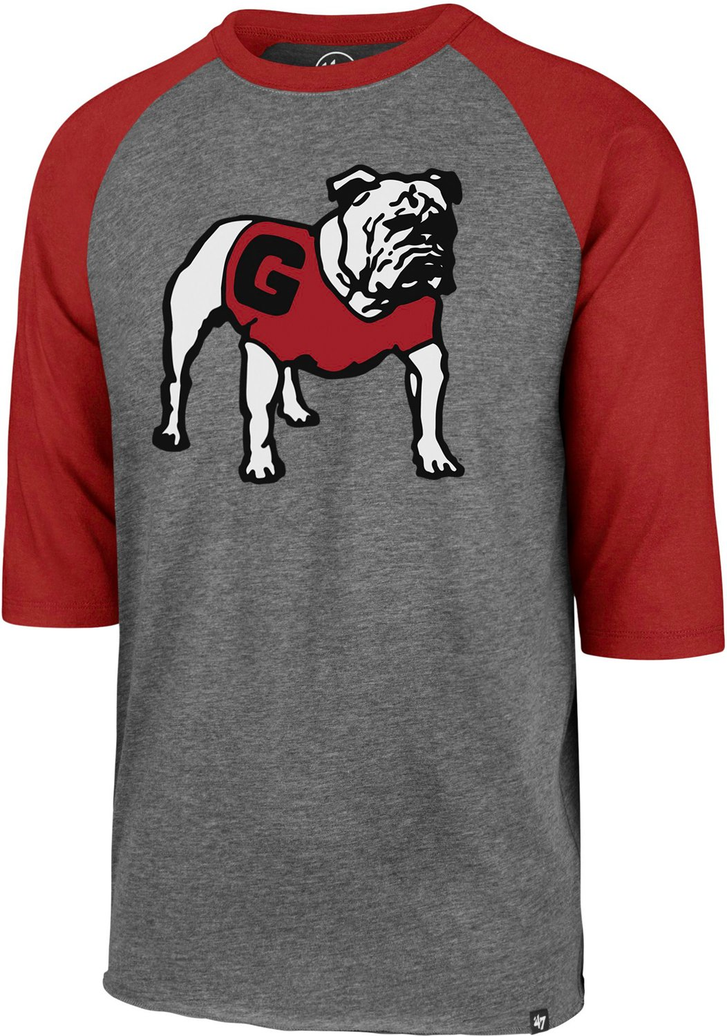 cbcd46838fcc '47 University of Georgia Men's Vintage Imprint Club Raglan Long Sleeve T- shirt | Academy