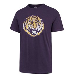 Louisiana State University Men's Knockout Vintage Fieldhouse T-shirt