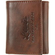 Levi's Men's RFID Leather Trifold Wallet with Zipper Pocket