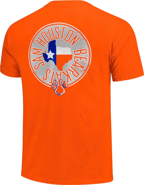 Image One Men's Sam Houston State University Circle Comfort Color T-shirt
