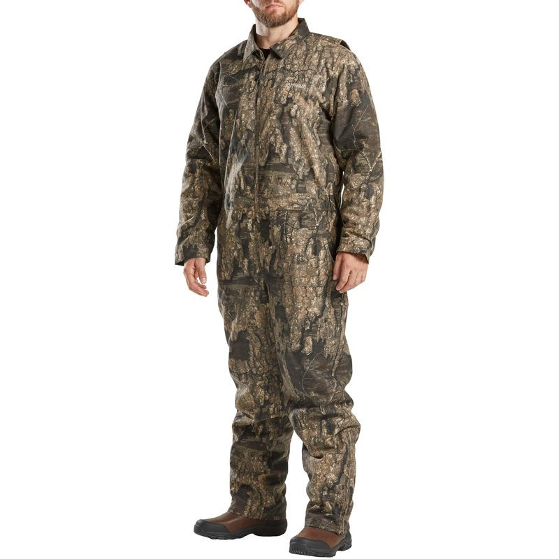 Magellan Outdoors Men's Camo Grand Pass Coveralls, Small – Adult Insulated Camo at Academy Sports
