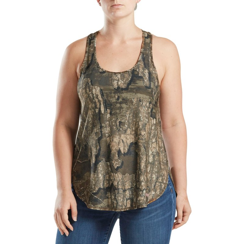 Magellan Outdoors Women's Eagle Bluff Tank Top, X-Large - Ladies Non-Insulated Camo at Academy Sports thumbnail