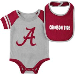 Infant Boys' University of Alabama Roll-Out Graphic Onesie and Bib Set