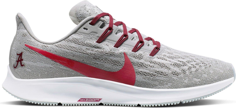 sale retailer 05600 582d8 Nike Men's University of Alabama Air Zoom Pegasus 36 Running Shoes