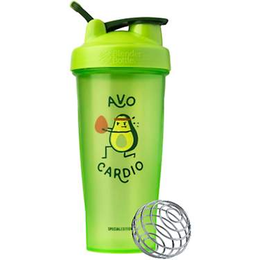 BlenderBottle Just For Fun Avocado Shaker