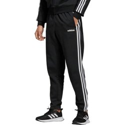 adidas Men's Essential 3-Stripes Fleece Tapered Pants