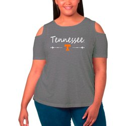 Women's University of Tennessee Cold Shoulder Plus Size T-shirt