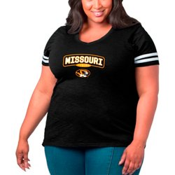 Women's University of Missouri Arched Over Plus Size Sporty Slub T-shirt