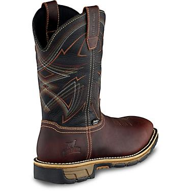 ddaf1cc2d8d Irish Setter Men's 11 in Marshall Waterproof Leather Soft Toe Pull-On Work  Boots