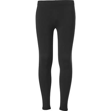 BCG Girls' Athletic Solid Cotton Leggings