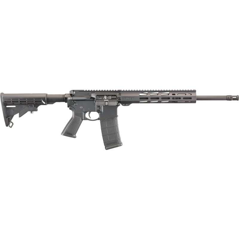 Ruger AR-556 .233 Remington/5.56 NATO Semiautomatic Rifle - Modern Sporting Rifles at Academy Sports thumbnail