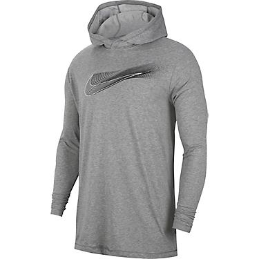 buying new various colors the best Nike Men's Dri-FIT Hooded Long Sleeve Training T-shirt