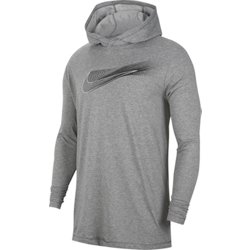 Men's Dri-FIT Hooded Long Sleeve Training T-shirt