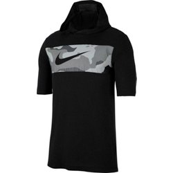 Men's Dri-FIT Camo Short Sleeve Training Hoodie