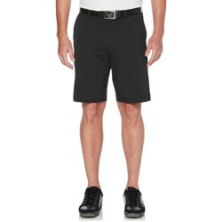 Men's Stretch Active Solid Golf Shorts 9 in