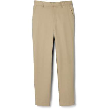 French Toast Boys Uniform Pants Adjustable Waist relaxed fit size 4 Tan