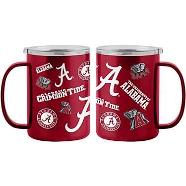 NCAA Alabama Crimson Tide Bling Straw Tumbler 22-Ounce