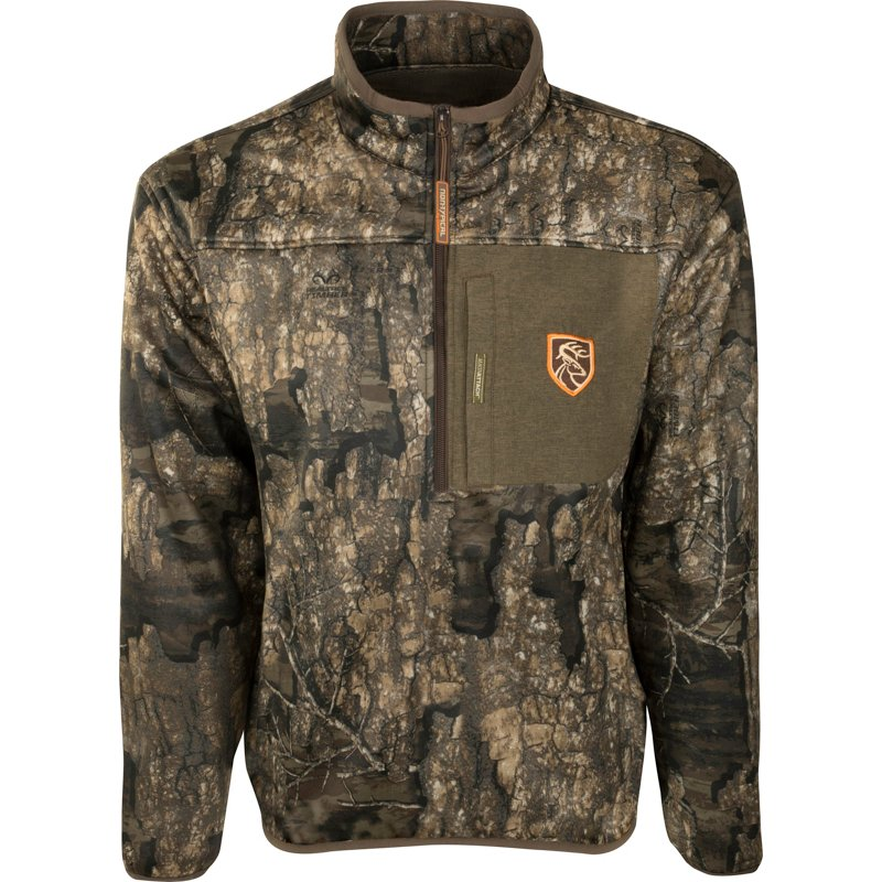 Drake Waterfowl Men's Endurance 1/4 Zip Jacket, Small - Adult Insulated Camo at Academy Sports thumbnail