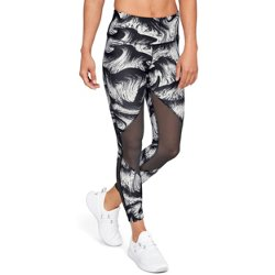 Women's HeatGear Mesh Print Leggings