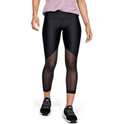 Women's HeatGear Mesh Graphic Ankle Leggings