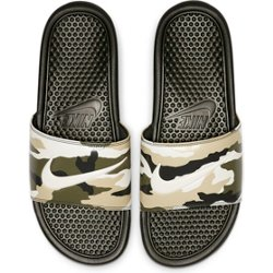 Men's Benassi Just Do It Printed Slides