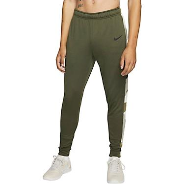 Nike Men's Dri FIT Camo Tapered Fleece Training Pants