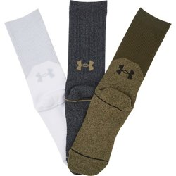 Phenom 5.0 Solid Crew Socks 3 Pack