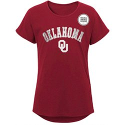 Girls' University of Oklahoma Show Love/Club Dolman T-shirt