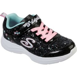 Girls' S Lights Glimmer Kicks Glitter N' Glow Shoes