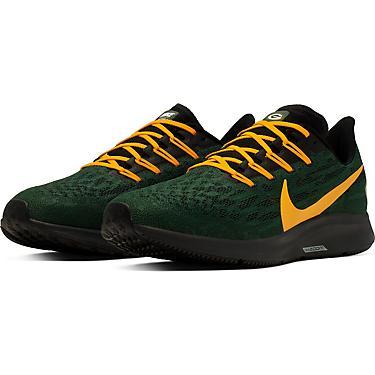 Nike Men's Green Bay Packers Air Zoom Pegasus 36 Running Shoes