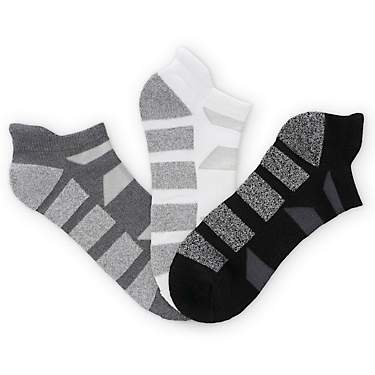 BCG No Show Tab Bamboo Performance Socks 3 Pack