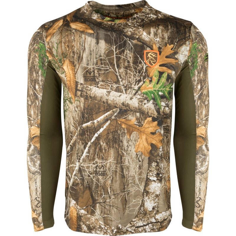 Drake Waterfowl Men's Agion Performance Long Sleeve T-Shirt, Large - Adult Non Insulted Camo at Academy Sports thumbnail