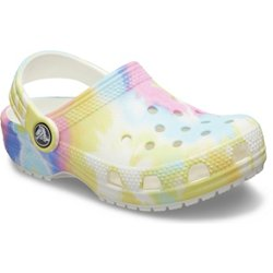 Kids' Classic Tie-Dye Graphic Clogs