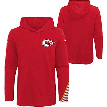 competitive price 5796f e8a8c NFL Boys' Kansas City Chiefs Dri-FIT Scrimmage Hoodie