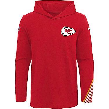 competitive price ff965 b8d3e NFL Boys' Kansas City Chiefs Dri-FIT Scrimmage Hoodie