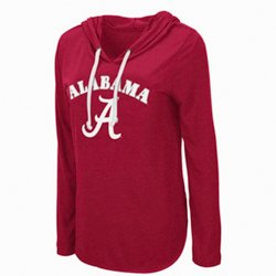 Women's University of Alabama My Lover Hooded Long Sleeve T-shirt