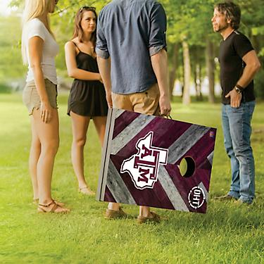 Peachy Victory Tailgate Texas Am University Bean Bag Toss Game Ibusinesslaw Wood Chair Design Ideas Ibusinesslaworg