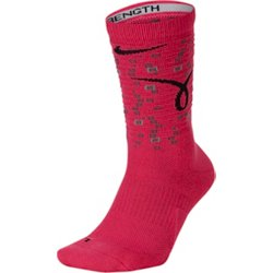 Elite Kay Yow Basketball Crew Socks