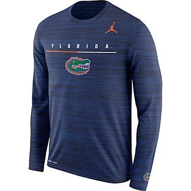 new concept 82893 1869a Jordan Florida Gators Men's Long Sleeve Velocity Legend Travel T-shirt
