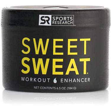 Sports Research Sweet Sweat 6.5 oz Workout Gel Original Jar