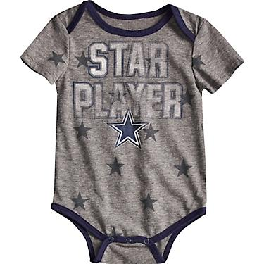 2304b3b78 Dallas Cowboys Infants' Mayfield Body Suits 2-Pack