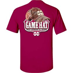 Men's Mississippi State University Camo Hat T-shirt