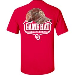 Men's University of Oklahoma Camo Hat T-shirt