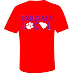 Men's Clemson University Tailgate Local T-shirt