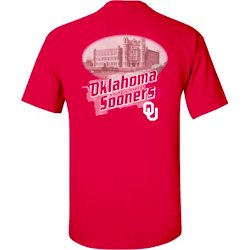 Men's University of Oklahoma Team Engraving Short Sleeve T-shirt